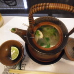 和匠よし乃 - 2012.10.25 松茸土瓶蒸し