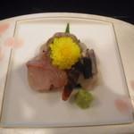 和匠よし乃 - 2012.10.25 シオ(カンパチ若魚)刺身