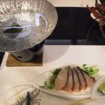 和匠よし乃 - 2012.10.25 シオ(カンパチ若魚)しゃぶしゃぶ