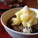 矢的庵 - お餅の天ぷらが乗ってます
