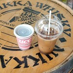 余市町観光物産センター「エルラプラザ」 - ドリンク写真:テイクアウトしたコーヒー