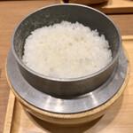 かつ工房 和幸 - 料理写真:お釜炊きご飯が、最高においしい❤︎