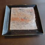 和牛焼肉 やくにく - プレート状の岩塩