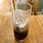 シェ・カザマ - アイスコーヒー350円