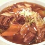 杏花村 - 牛肉角煮麺