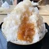 ムカイ林檎店 - 料理写真:りんごのかき氷(700円)