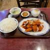 廣州酒家 - 料理写真:R3.7 日替わり定食・B.白身魚の甘酢あんかけ