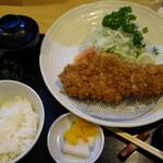 こばやし亭 - 料理写真:鹿児島黒豚上ロース定食