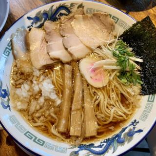 阿波尾鶏中華そば藍庵 - 料理写真:肉煮干中華そば