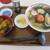 レストハウスうしお - 料理写真:磯ラーメンと生うに丼のセット 2,900円