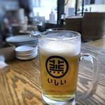 焼売酒場 いしい - ◆梅酒もいいかなと思ったのですけれど、やっぱり「ビール(330円)」でしょ。 一口目が美味しい。