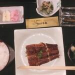 うなぎ本丸 - 料理写真:ランチ定食