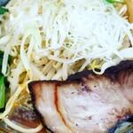 八幡だんちょうてー - 味噌ラーメンの麺