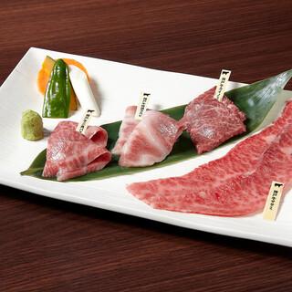 神戸牛を中心に厳選された銘柄和牛を使用