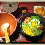 八十八楽 - ネバネバ茶漬け膳(正式な名前忘れました)