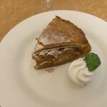 フュージョンダイニング エフ - 富士屋ホテルのアップルパイ