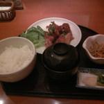 釜めし やきとり はん - 黒酢仕立のチキン南蛮定食900円