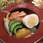 泡盛と沖縄料理 龍泉 - おでんの盛り合わせ