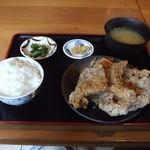 オホーツク美幌食堂 - 若鶏ザンギ定食(780円)
