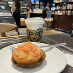 スターバックス・コーヒー - ピーチタルト、ドリップコーヒー