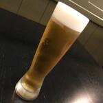 ザ シティ ベーカリー ブラッスリー ルービン - 生ビール「ホワイトベルグ」