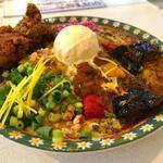 カリーハウス マシャーーラ - 混ぜて楽しい3種盛りカリーライス