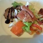 メルカートロッソ - 前菜盛り合わせ