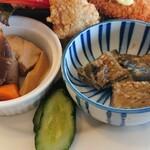 レストラン コロナ - 煮物、ナス味噌