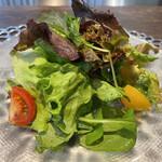 Teppanyakimare - ランチのサラダ