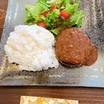 鉄板肉バルどんと - ハンバーグ定食