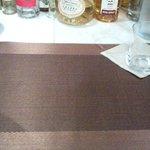 横浜馬車道 旬の肉料理イタリアン オステリア・アウストロ - テーブルセッティング(2012.10)