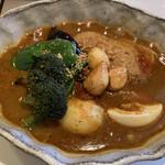 ルッカパイパイ - 料理写真:チキンベジタブル 田子ニンニクトッピング