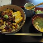 和食 斉とう - ランチ_ぶつづけ丼