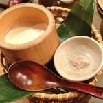 こだわりもん一家 - お店仕込みの竹豆腐