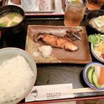 旬菜魚 いなだ - 厚切り銀ダラ西京焼き定食