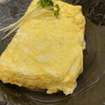 一色産地焼き鰻 福乃城 - 鰻巻き500円 焼きたて熱々、これも最高に美味しい