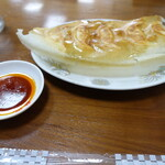 155234235 - 羽根つき焼き餃子