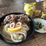 カマ喜ri - 肉ぶっかけ冷小 600円(税込)