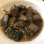 中国料理 富美 - 牛タンの醤油煮込み