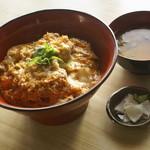 めし処 壬屋 - ヒレカツ丼800円