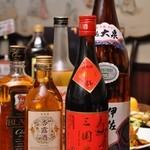 成都 - お酒の数々