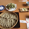 孫平治 - 料理写真:蕎麦五合¥1540、季節の天ぷら¥660