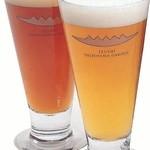 出石 城山ガーデン - 麦芽に蕎麦を加えて醸造したクラフトビール『いずし浪漫』☆お試しビールは1杯100円から