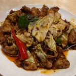 155254095 - 豚肉とキャベツの味噌炒め