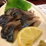 中華キッチンかなめ - トロ〆鯖のあぶり!