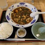 155266302 - 牛肉麻婆豆腐セット 1,400円