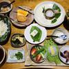 秋月 とうふ家 - 料理写真:豆腐と冷やし豆乳うどん膳=1628円 税込 ※1人客用メニュー