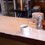 15527023 - カウンター上、サービスのコーヒー