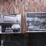 ビールスタンド重富 - 左は戦前、右手は戦後のお店の様子