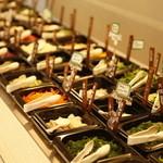 野菜がおいしいごはん - 新鮮野菜ビュッフェコーナー